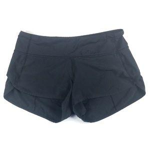 """lululemon athletica Shorts - Lululemon Black Speed Up Short 2.5"""""""